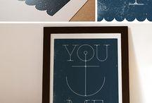 words & prints