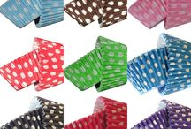 cupcake cases galore / Have a party coming soon ? many different cupcake cases in loads of colours and patterns to match your theme.