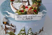 Boże Narodzenie -torty
