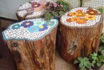 mosaicos jardin