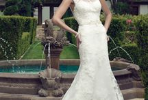 33 Stunning Lace Gowns / The age old process of lace-making has always brought a special, romantic touch to wedding gowns. Here are our favorite lace wedding dresses, available at Ferrari Formalwear & Bridal