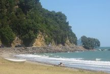 Beaches of New Zealand / A day at the beach, restores the soul