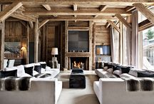 Interior design for chalet