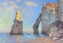 MONET / Oscar-Claude Monet (París, 14 de noviembre de 1840-Giverny, 5 de diciembre de 1926),pintor francés, uno de los padres creadores del impresionismo.