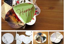 Ornament / Recycled cards