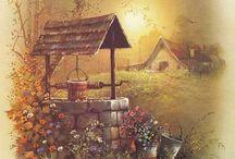 Природа, Деревня