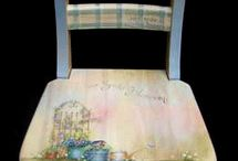 Painted chairs / by Bonita Easterling