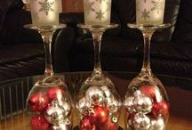 Christmas Table Decorations / Ideas for decorating my Christmas table