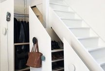 Storage Ideas / A home well organized will be a pleasure to live in. The small details will make the difference.