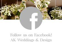AK Weddings & Design / Recent Wedding Stationery by AK Weddings & Design