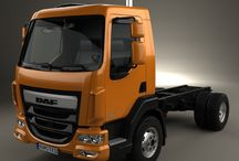 """T DAF TRUCK 45LF / This model of truck,is only used in Local Transport,Refrigerated or not,in the cities,and short distances.It""""s a truck with a low total weight,making him a good choice for local transport in the city,mostly because his litle dimensions,specially when it""""s need to park him,or be in city traffic.It""""s also used as road cleaner truck,fire dept.truck,transport of animals (horses),recycling waste containers,fuel tanker truck & tow wrecker truck,for smaller trucks or bigger vans."""