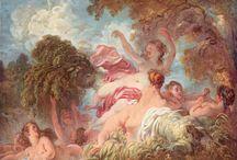 Rococo ~ Jean-Honoré Fragonard