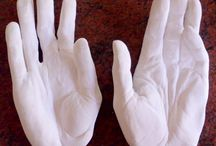 Family / Adults plaster casting / plaster casting hands & feet for adults, or the family, Sydney.