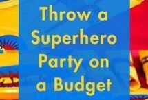 MARVELous party ideas