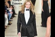 Ralph Lauren / Ralph Lauren collezione e catalogo primavera estate e autunno inverno abiti abbigliamento accessori scarpe borse sfilata donna.