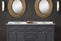 Bathroom remodel  / by Elizabeth Geiser