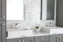 Wall Tile Inspiration / Wall tile can instantly add industrial charm to many of the spaces in your home.