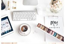 Flatlay- Workspace Styling