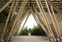 Architecture - Bamboo / bamboo constructions