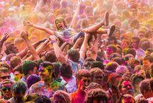 Holi Celebration in delhi