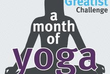 30 Day Yoga Challenge  / by Morgan Duncan