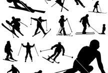 ski tattoos