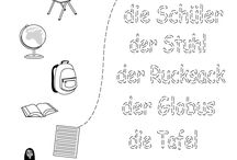 Němčina pracovní listy