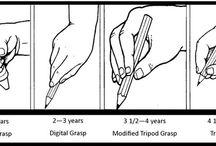 Λαβή μολυβιού ανά ηλικία