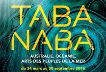 Exhibition TABA NABA - Australia / Du 24 mars au 30 septembre 2016, l'art aborigène et océanien sera mis à l'honneur au Musée. TABA NABA, est une exposition majeure sur le thème des océans et de l'eau. Le projet s'articulera autour de trois volets complémentaires, développés avec trois partenaires reconnus dans cette forme d'art si particulière.