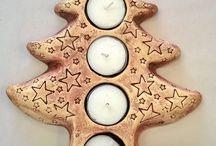 Keramika / Vánoce-strom