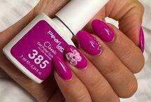 Lila körmök / Purple nails