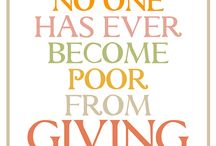 Thanksgiving Quotes / Thanksgiving Holiday and Giving