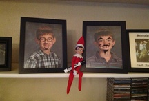 """Taus Family Elf on the Shelf 2012 / Our first year with Elf on the Shelf...pictures from most all the things our little guy, """"Red"""" did"""
