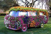 Volkswagen de mis sueños hippies
