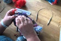 Twiddle muffs and fidget quilts