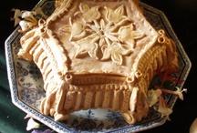 Historical food, pai, cake etc.