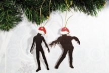 creepy holiday ornaments & more / by Amy Ruffenach