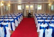 Royal Blue Satin Weddings / Bold, regal royal Blue Satin
