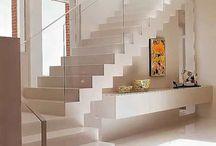decoração de escadas interiores