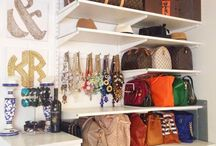 FurnishMyWay Closets / What to do when your closet doesn't reflect your personal style? From organization tips to chic closet interior design, we've got tons of ideas for you!