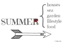 SUMMER / by AnMa ZiNe ╰☆╮