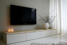 Low tv cabinet
