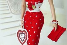 valentine Barbie clothes