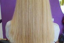 Hair - cuts, blow dry, styling, ... / Střih, foukaná, styling, péče o vlasy...
