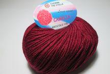 SPORT CAMELIA / 65%Lana 35% Microfibra 50 grammi-100mt. ferri-uncinetto 4,5/6 / 65% laine 35% microfibre 50 grammes-100mt.  fers-crochets 4,5 / 6