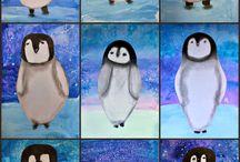 Penguin art