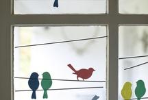 oiseaux arts visuels