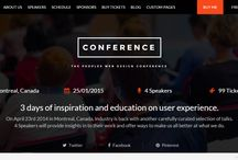 Top Conference & Event WordPress Themes / Conference & Event WordPress Themes