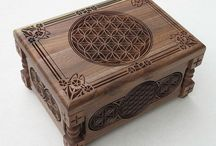 cajas talla madera