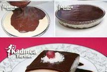 bisküvili kremalı pasta